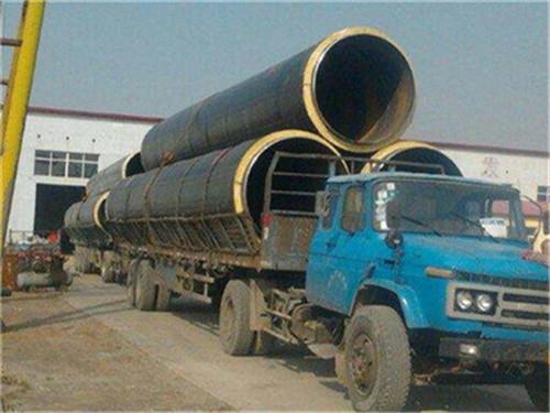 吉林省白城市预制聚氨酯发泡保温管量大从优