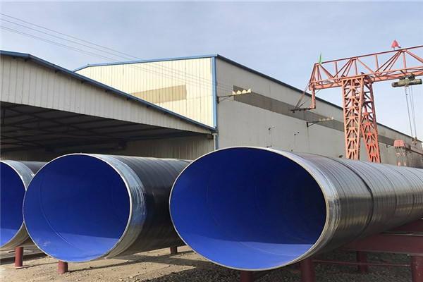 水泥砂浆防腐钢管优质供应商通河县
