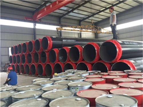 内蒙古自治区呼和浩特市黑夹克聚氨酯直埋保温管性能介绍