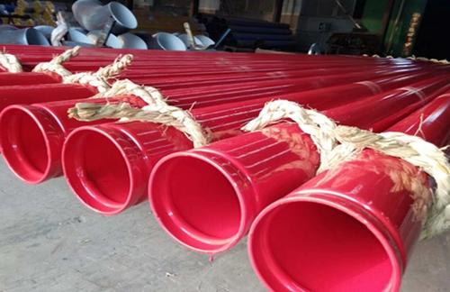 洛阳新安--卡箍连接内外涂塑钢管厂家产品