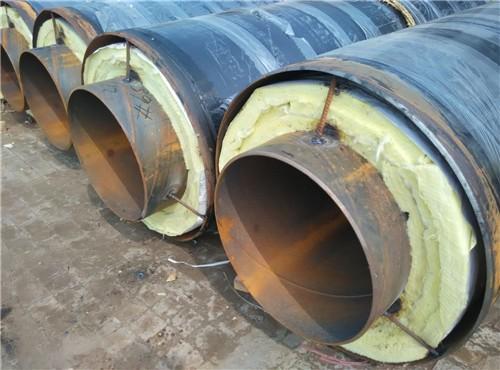 芜湖钢套钢玻璃棉保温钢管价位