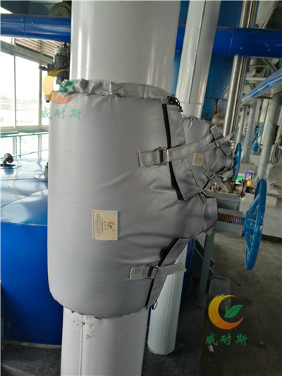 集安制药厂保温套排气管保温夹克