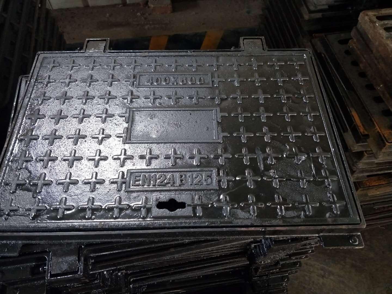 佛山球墨铸铁方形井盖700*700电力