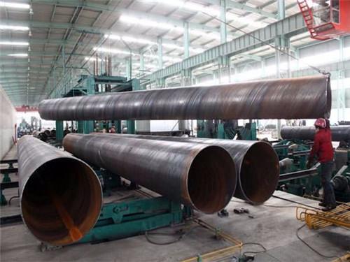 D250Q235B大口径厚壁焊管不含税价格