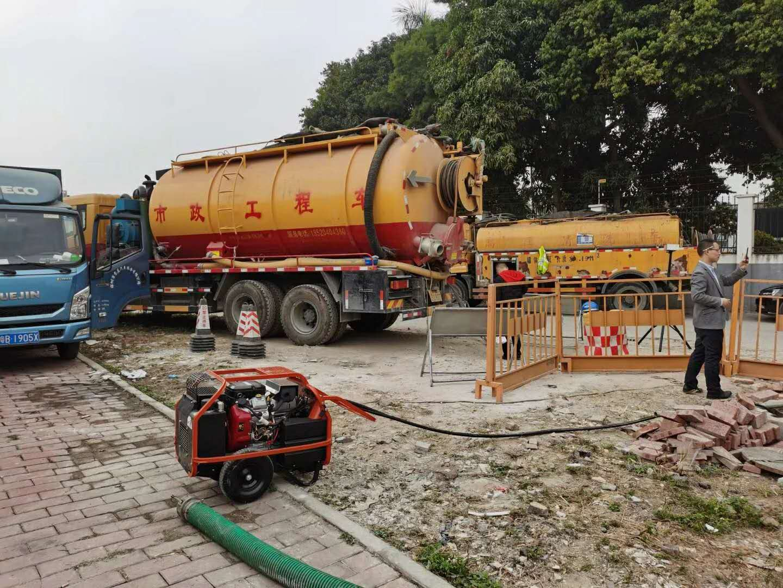 即墨市市政污水管道清淤技术专业