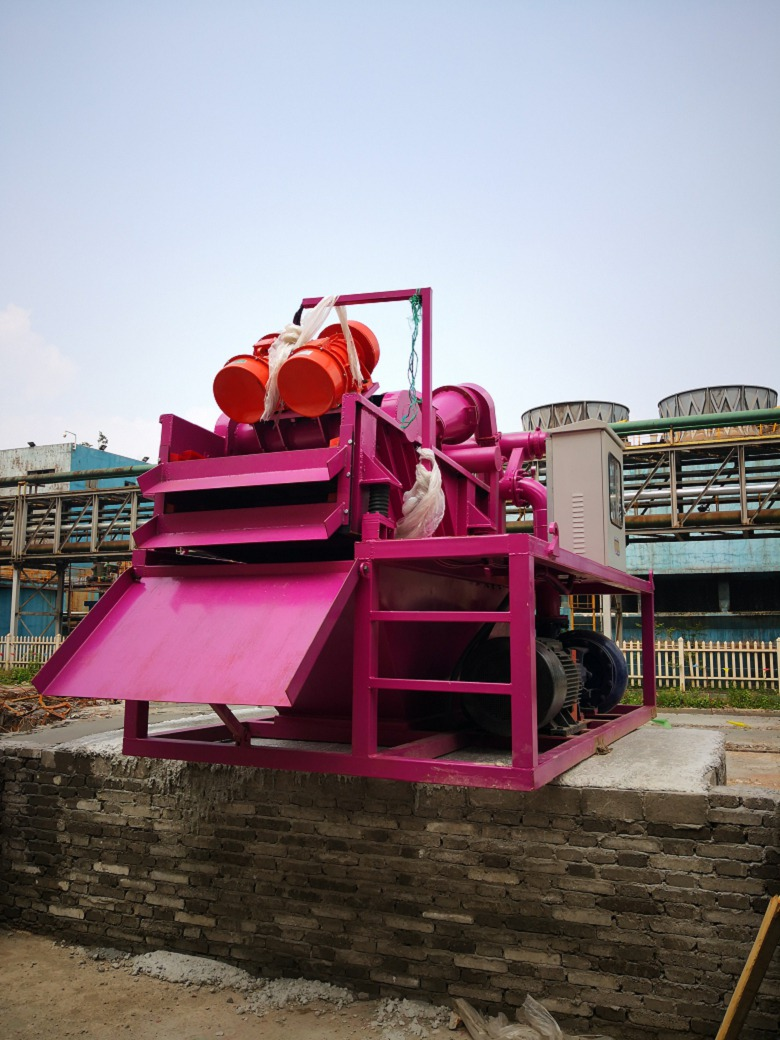 信阳淮滨砂石厂泥浆分离器