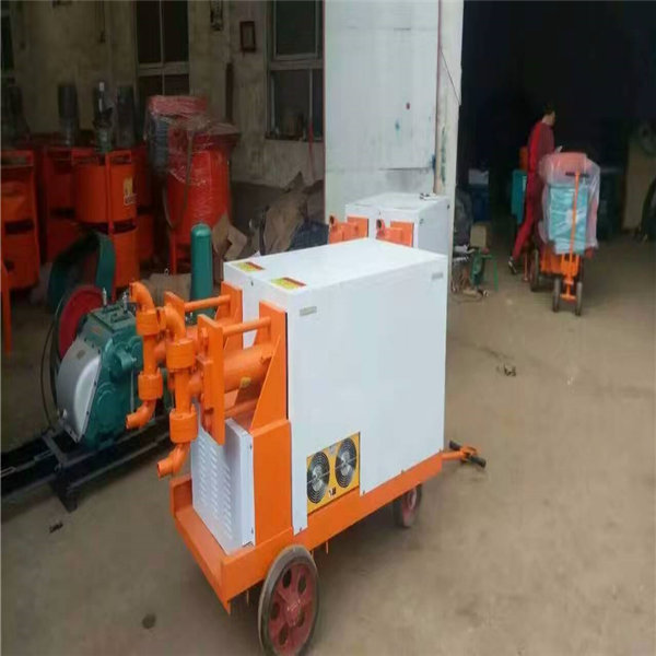新闻:江苏丹阳 小型单缸注浆机 WSJ200液压砂浆泵 生产厂家