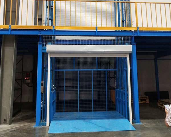 玉林导轨升降机+两层升降货梯按需定做