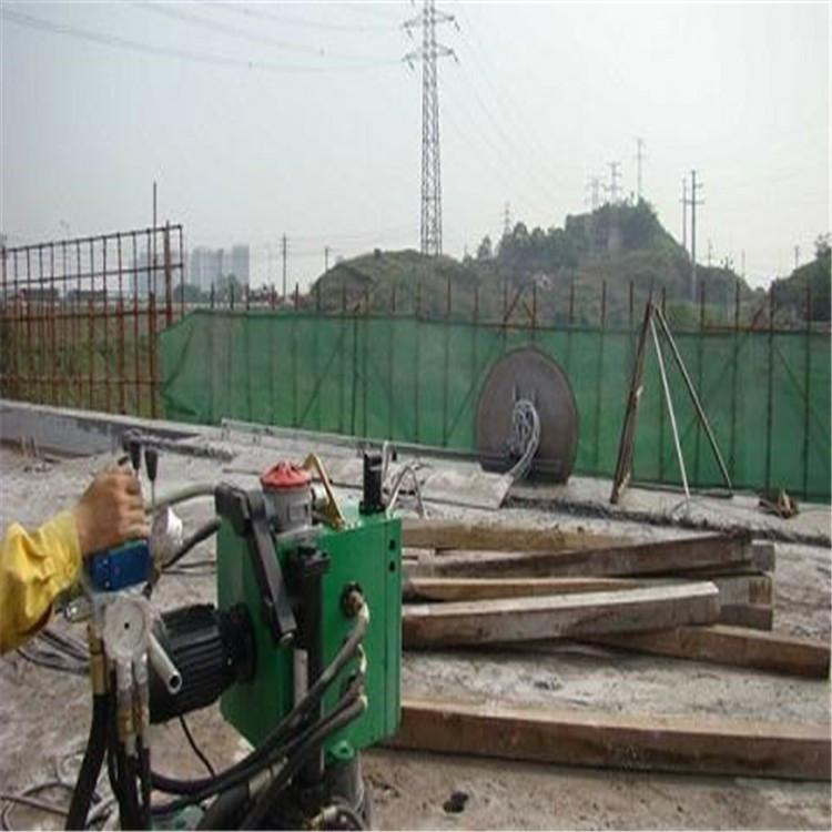 台州高速防撞墙切割_绳锯切割_施工
