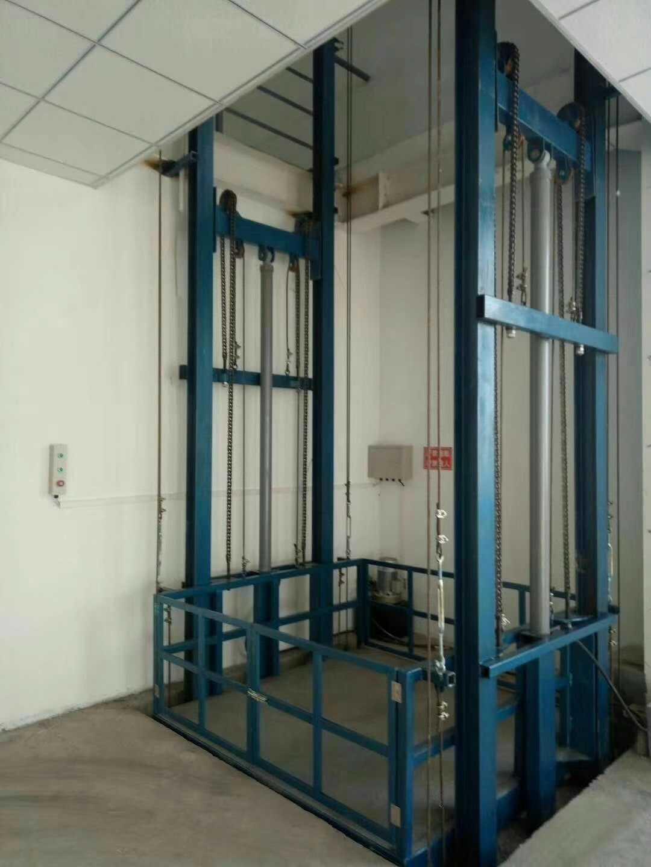 德州三层导轨货梯供应商