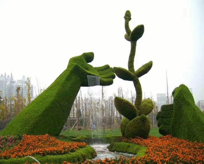 【绿雕景观】吉安建100周年绿雕制作厂家#轩轩绿雕