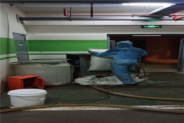 台州无机纤维喷涂施工