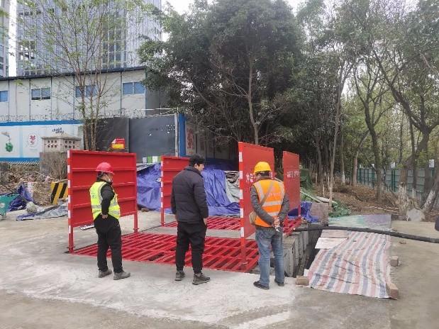 环县工地立体冲洗设备基础施工