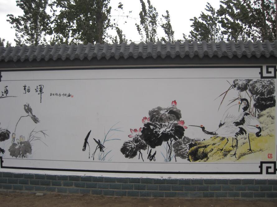 怒江兰坪学校墙体彩绘(的工作室)