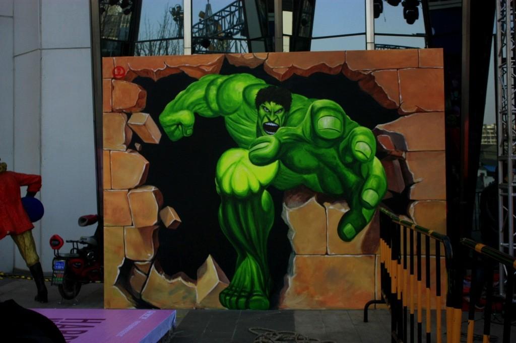 长沙儿童游乐场墙体彩绘价格