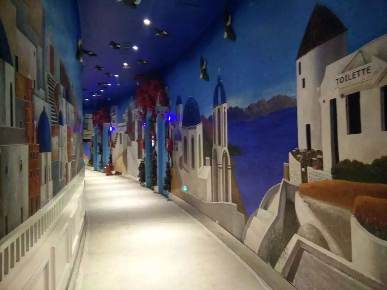 鄂州餐厅涂鸦|儿童游乐场墙绘的公司