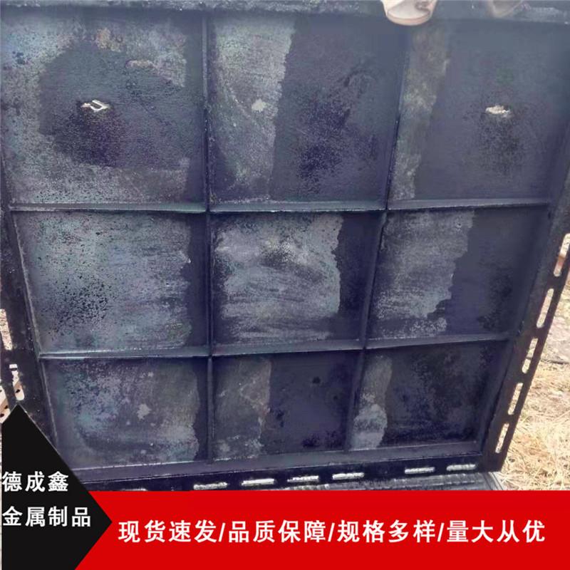 舟山球墨铸铁井盖方形(双开)