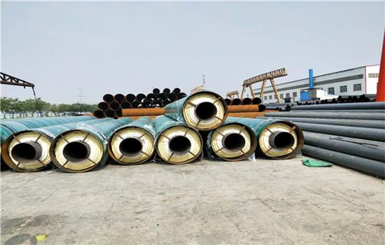 钢套钢型预制保温钢管今日价格(友浩管道)