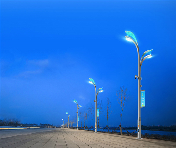 遵义城市智慧路灯厂家_支持来图定制设计