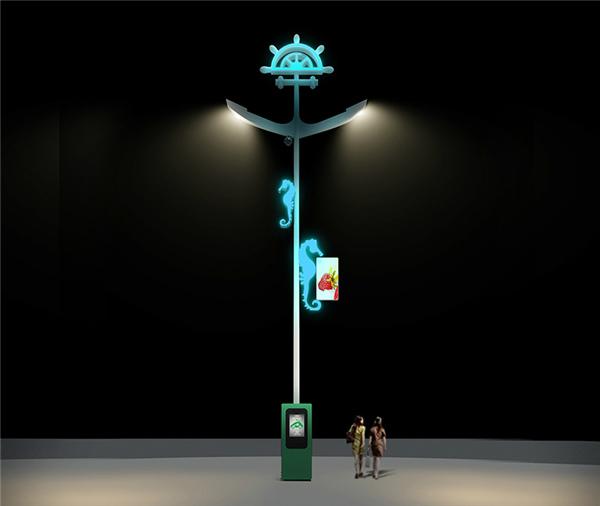 嘉兴智慧路灯方案_支持来图定制设计