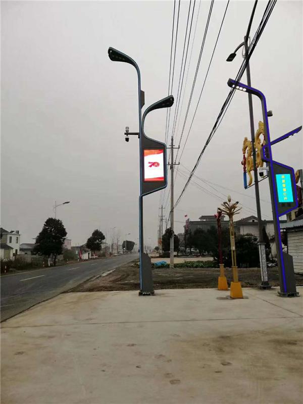 滨州智慧路灯图片_技术支持