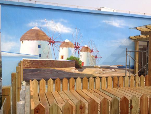 怒江美丽乡村彩绘|学校文化墙彩绘设计