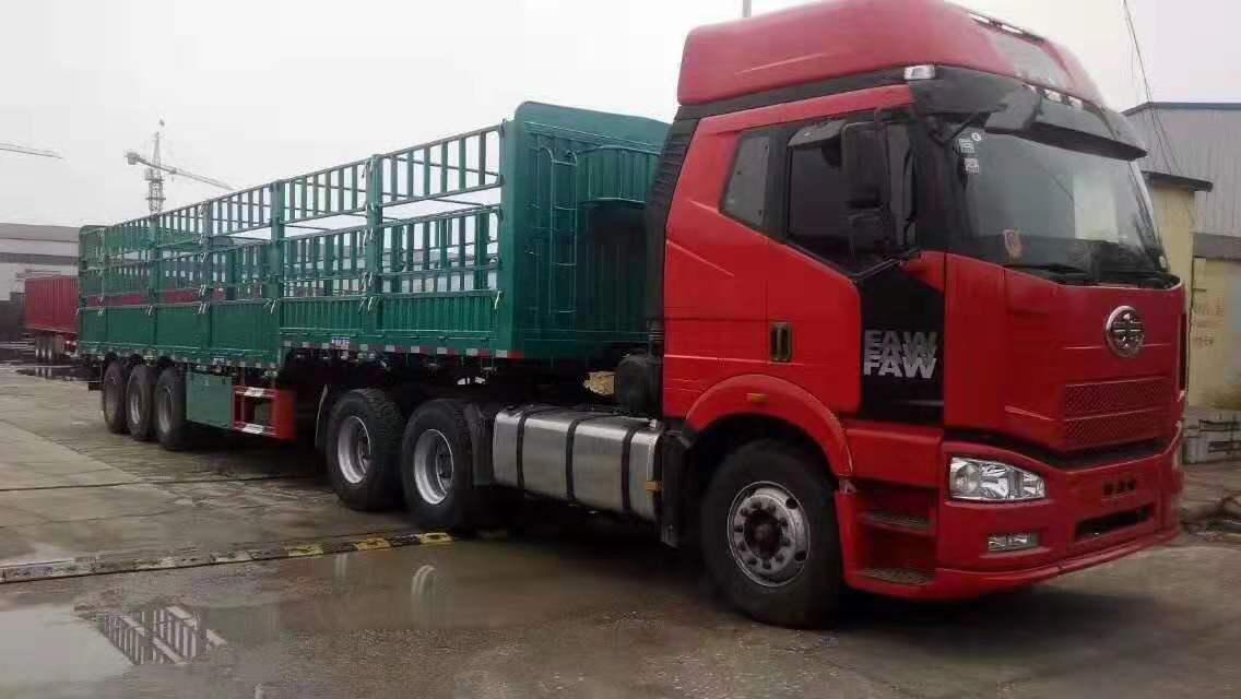 杭州到广元昭化普货运输6米8高栏车