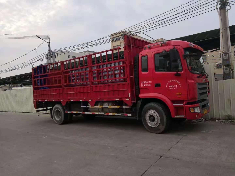 佛山乐平回到江西萍乡13米高栏车包车运输