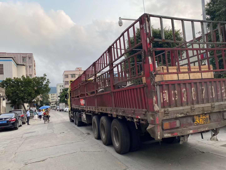 深圳坪地到绵阳17米5板车整车/拼车运输