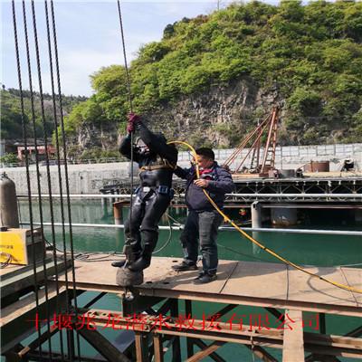 洛阳潜水员打捞公司组图—潜水员封堵单位