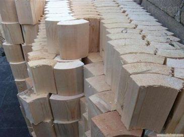 张掖防震管用红松垫木批发价格