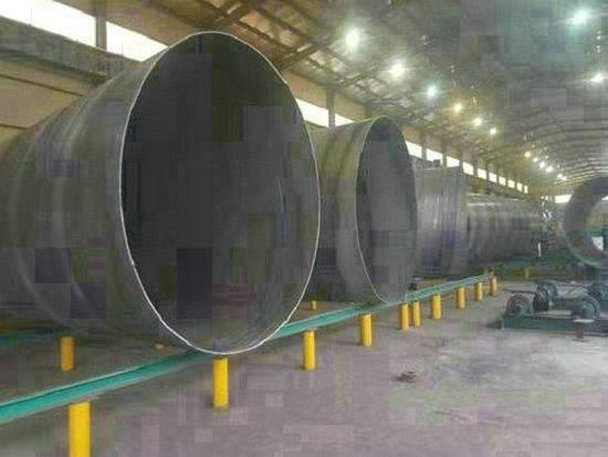 大荔820×12Q235B直缝钢管实体厂家