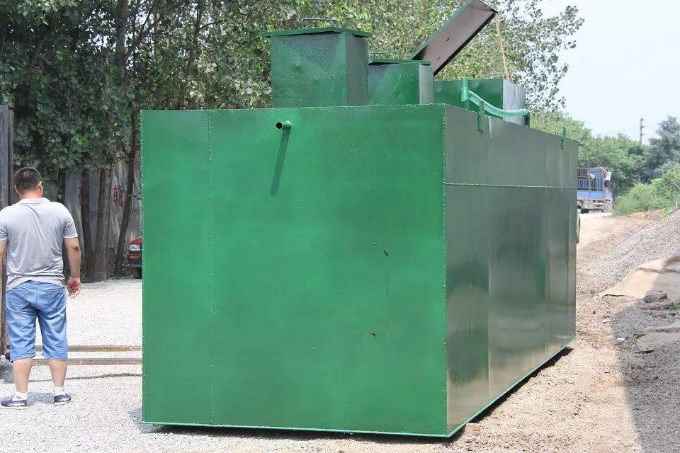 官渡地埋式医院污水处理设备生产厂家每小时20吨