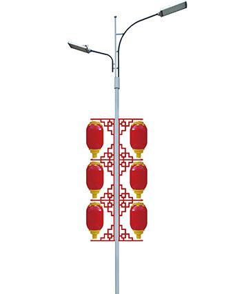 南和LED梅花灯笼公园装扮灯
