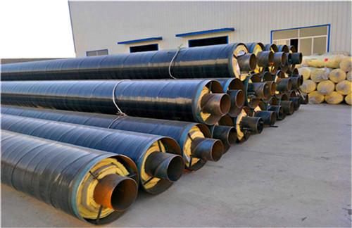 安徽阜阳钢套钢蒸汽保温螺旋钢管规格齐全