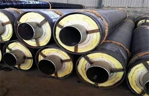 鸡西麻山耐高温钢套钢蒸汽保温螺旋钢管价格表