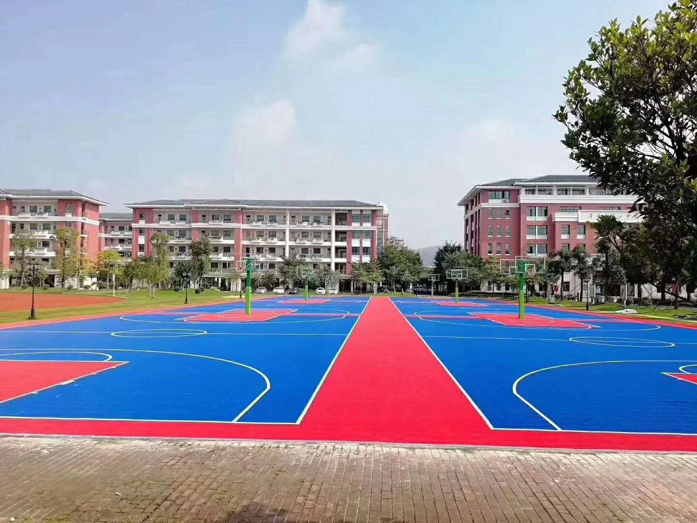 周口市淮阳县篮球场拼装地板欢迎咨询