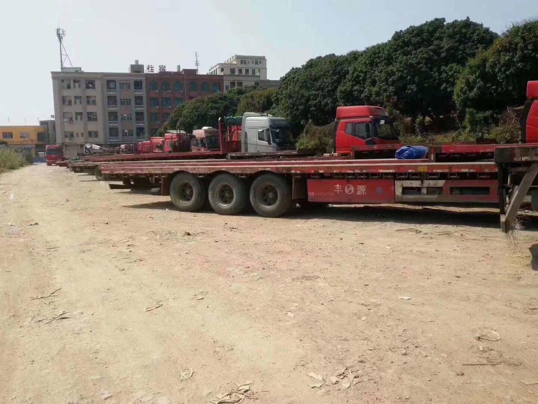 广州太和到广东江门13米高栏车整车运输