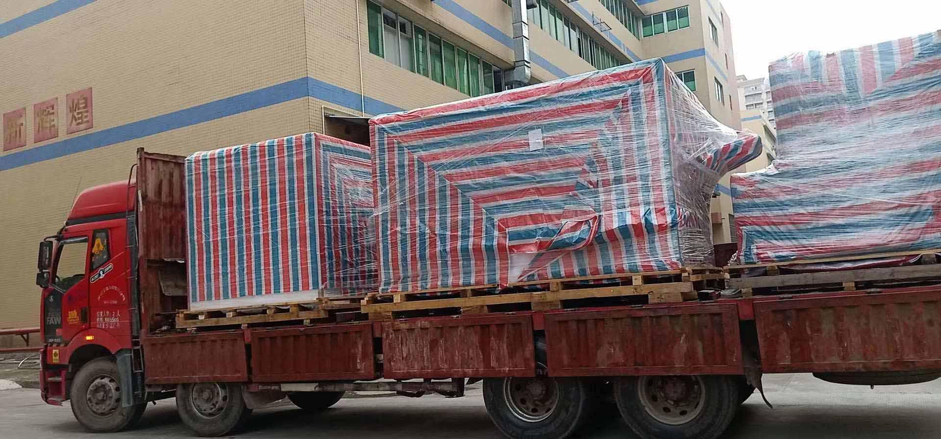 辽宁铁岭东莞凤岗13米爬梯车大件运输