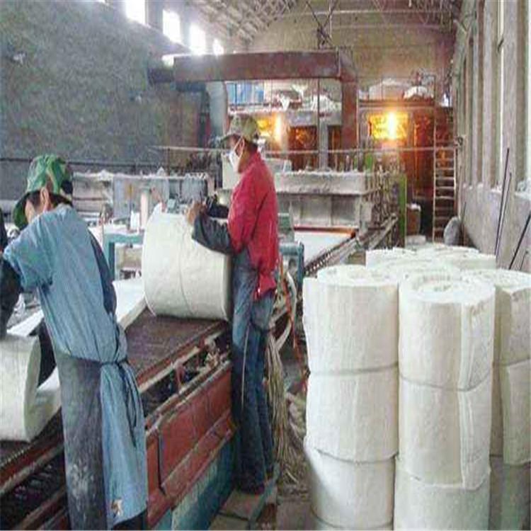 湛江遂溪陶瓷纤维硅酸铝纤维保温针刺毯