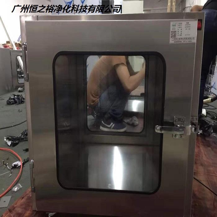 河南食品厂传递窗生产厂家/传递窗