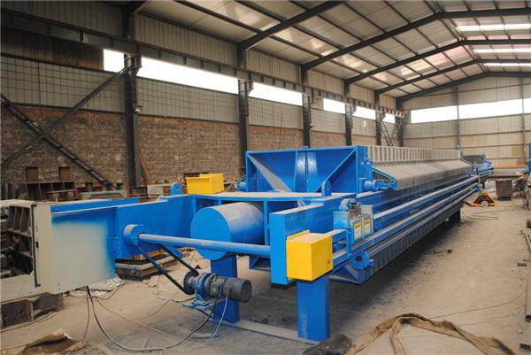 焦作洗煤厂污水处理带式压泥机