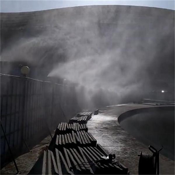 山东日照围挡喷淋围挡造雾系统围挡喷淋造雾机
