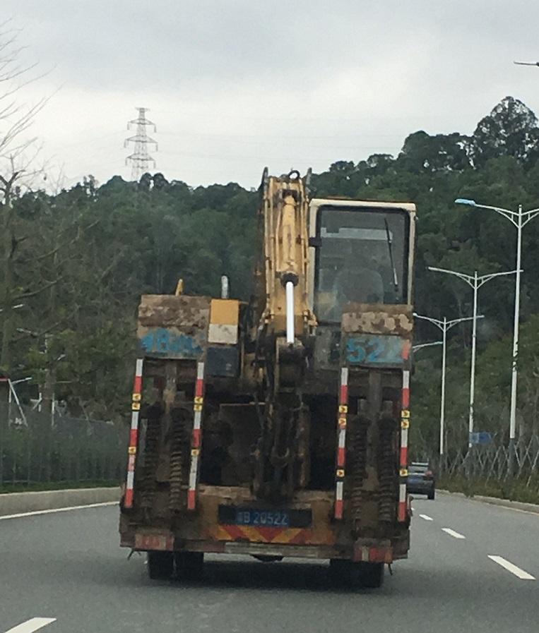 深圳坪地深圳坪地广元9米6高栏车7米6厢式车回头车运输