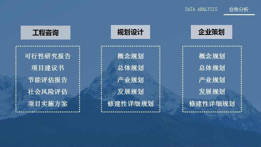 江油推荐做项目整体规划公司