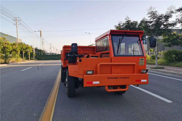 双鸭山市鸿德济宁舟山5吨矿用四不像车四轮自卸车厂家价格
