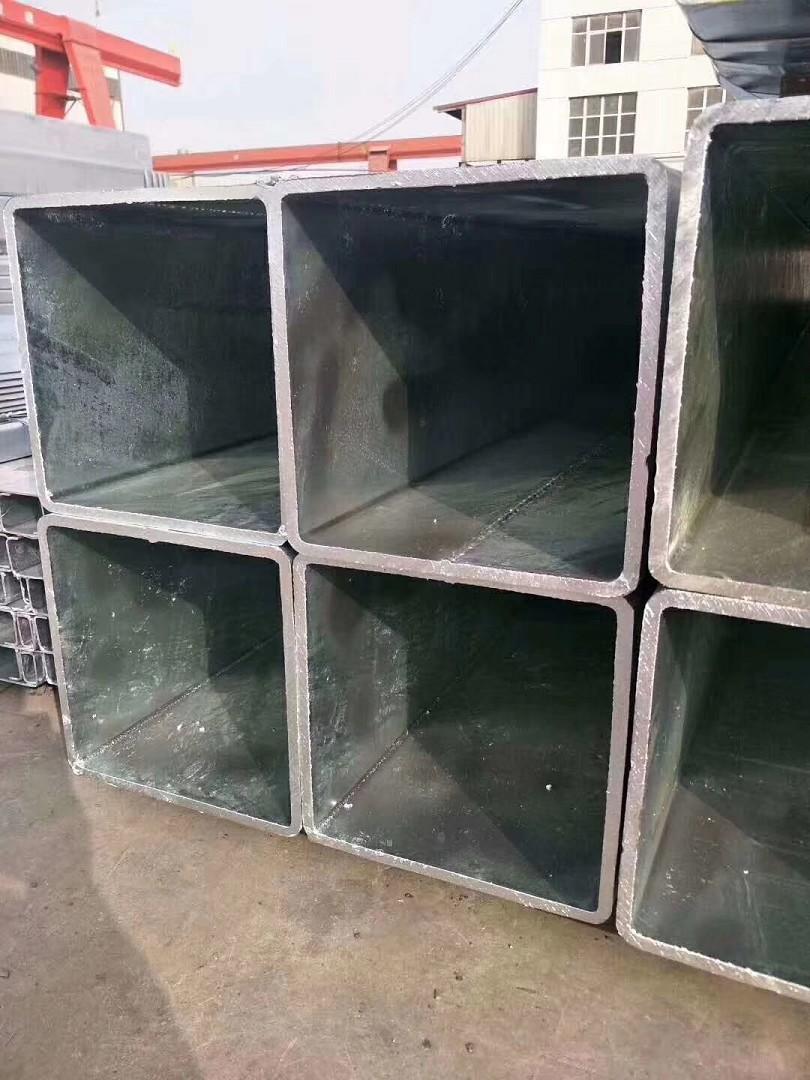报价Q355B镀锌方管Q235C镀锌方管元/吨