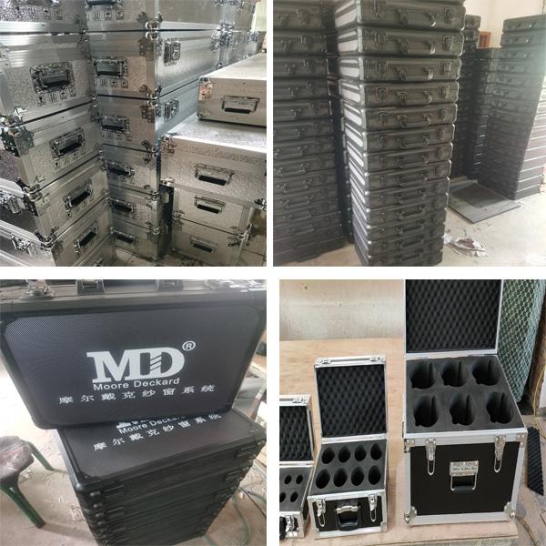 荆州市定制铝合金服装箱定做订购