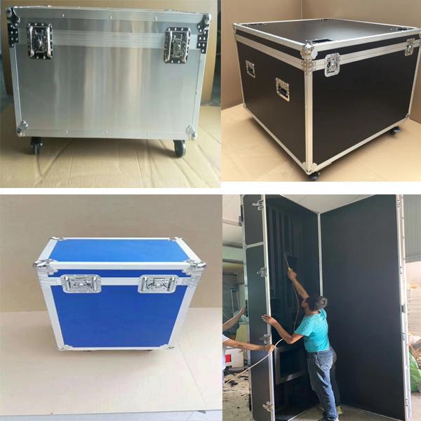 呼伦贝尔市定制铝合金灯光箱定做铝箱源头生产厂家