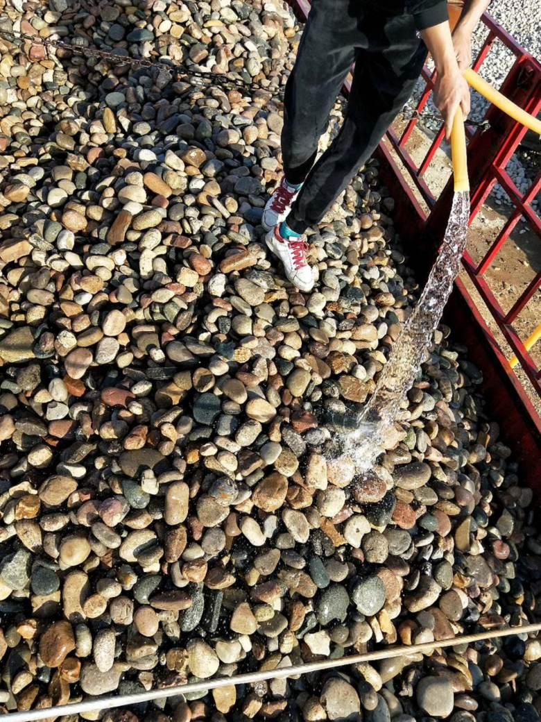 鹅卵石_商洛配电室滤油鹅卵石_鹅卵石滤料供应价格